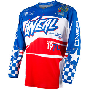 2019 Oneal Element Afterburner Youth / Kids Jersey