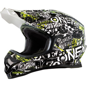 2019 ONeal 3 Series Attack Youth / Kids Helmet
