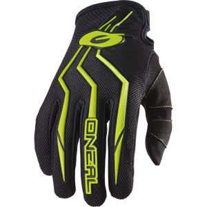 2019 ONeal Element Racewear Youth / Kids Gloves - Black/Hi-Viz