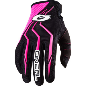 2018 ONeal Element Racewear Youth / Girls Gloves - Pink