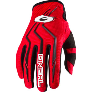 2019 ONeal Element Racewear Youth / Kids Gloves - Red
