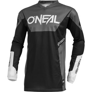 2019 Oneal Element Racewear Jersey - Black/Gray