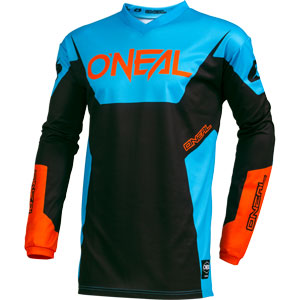 2019 Oneal Element Racewear Jersey - Blue/Orange