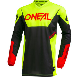 2019 Oneal Element Racewear Jersey - Neon Yellow