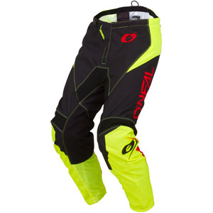 2019 Oneal Element Racewear Pants - Neon Yellow