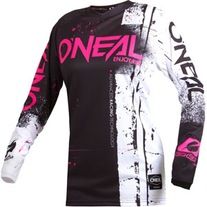 2019 Oneal Element Shred Kids / Girls Jersey - Pink