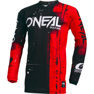 2019 Oneal Element Shred Jersey - Red