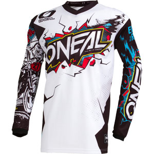 2019 Oneal Element Villain Jersey - White