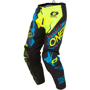 2019 Oneal Element Villain Pants - Neon Yellow