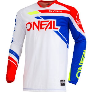 2019 ONeal Hardwear Rizer Jersey - Blue/Red