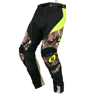 2019 ONeal Mayhem Lite Ambush Pants - Camo/Neon Yellow
