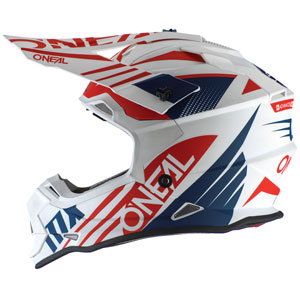 2020 ONeal 2 Series Spyde Helmet - White/Blue/Red