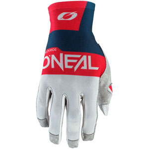2021 ONeal Airwear Gloves - Gray/Blue/Red