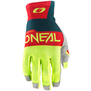 2020 ONeal Airwear Gloves - Blue/Red/Neon Yellow