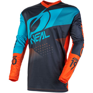 2020 Oneal Element Factor Jersey - Gray/Orange