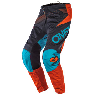 2020 Oneal Element Factor Pants - Gray/Orange