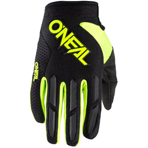 2020 ONeal Element Racewear Gloves - Black/Neon Yellow