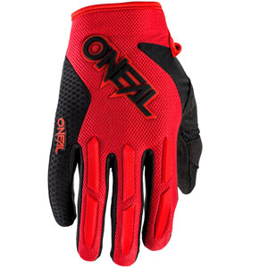 2020 ONeal Element Racewear Gloves - Red
