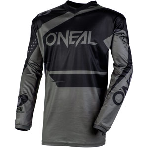 2020 Oneal Element Racewear Youth / Kids Jersey - Black/Gray
