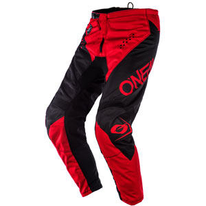 2020 Oneal Element Racewear Pants - Black/Red