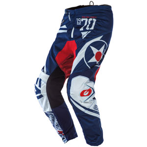 2020 Oneal Element Warhawk Pants - Blue/Red