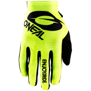 2021 ONeal Matrix Stacked Gloves - Neon Yellow