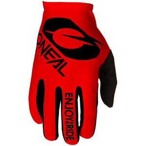 2021 ONeal Matrix Stacked Gloves - Red