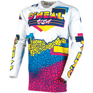 2020 ONeal Mayhem Lite Crackle 91 Jersey