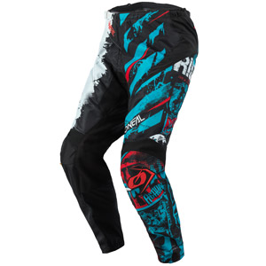 2021 Oneal Element Ride Pants - Black/Blue/White