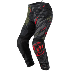 2021 Oneal Element Ride Pants - Black/Green