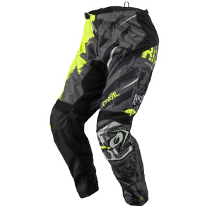 2021 Oneal Element Ride Pants - Black/Neon