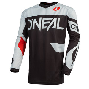 2021 Oneal Element Racewear Youth / Kids Jersey - Black/White