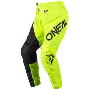 2021 Oneal Element Racewear Pants - Neon