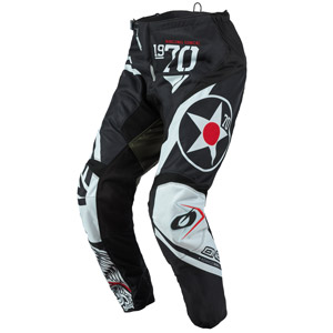 2021 Oneal Element Warhawk Pants - Black/Green
