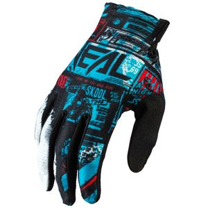 2021 ONeal Matrix Ride Gloves - Black/Blue