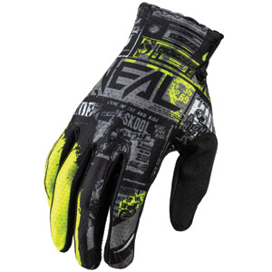 2021 ONeal Matrix Ride Gloves - Black/Neon