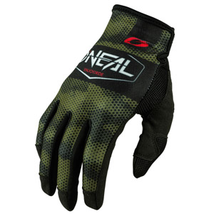 2021 ONeal Mayhem Covert Gloves - Black/Green