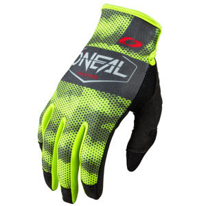 2021 ONeal Mayhem Covert Gloves - Charcoal/Neon