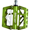 Azonic 420 Flat Bicycle Pedals - 9/16 - Green