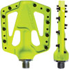 Azonic Flat Iron Bicycle Pedals - 9/16 - Neon Yellow