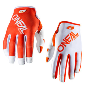 ONeal Mayhem Two Face Gloves - Orange/White