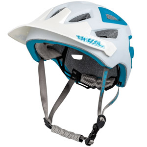 ONeal Pike Enduro Helmet - White/Blue
